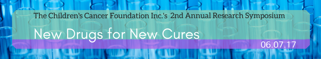 2nd Annual research symposium - New Drugs for New Cures