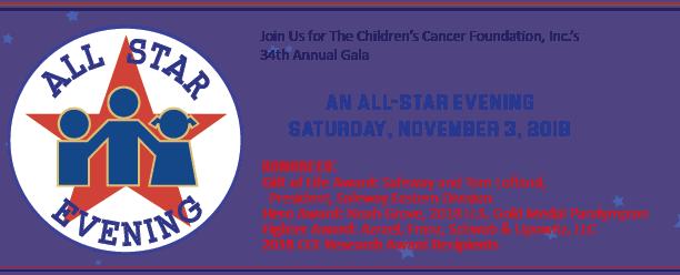 34th Annual CCF Gala – The Childrens Cancer Foundation, Inc