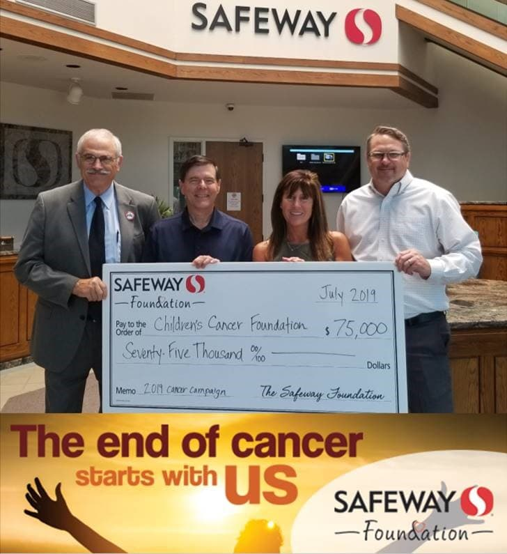 The Safeway Foundation awards CCF with $75,000 grant – The