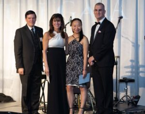 Hopkins researcher Lei Peng, M.D. receives the Giant Food CCF NextGen award for $100K.